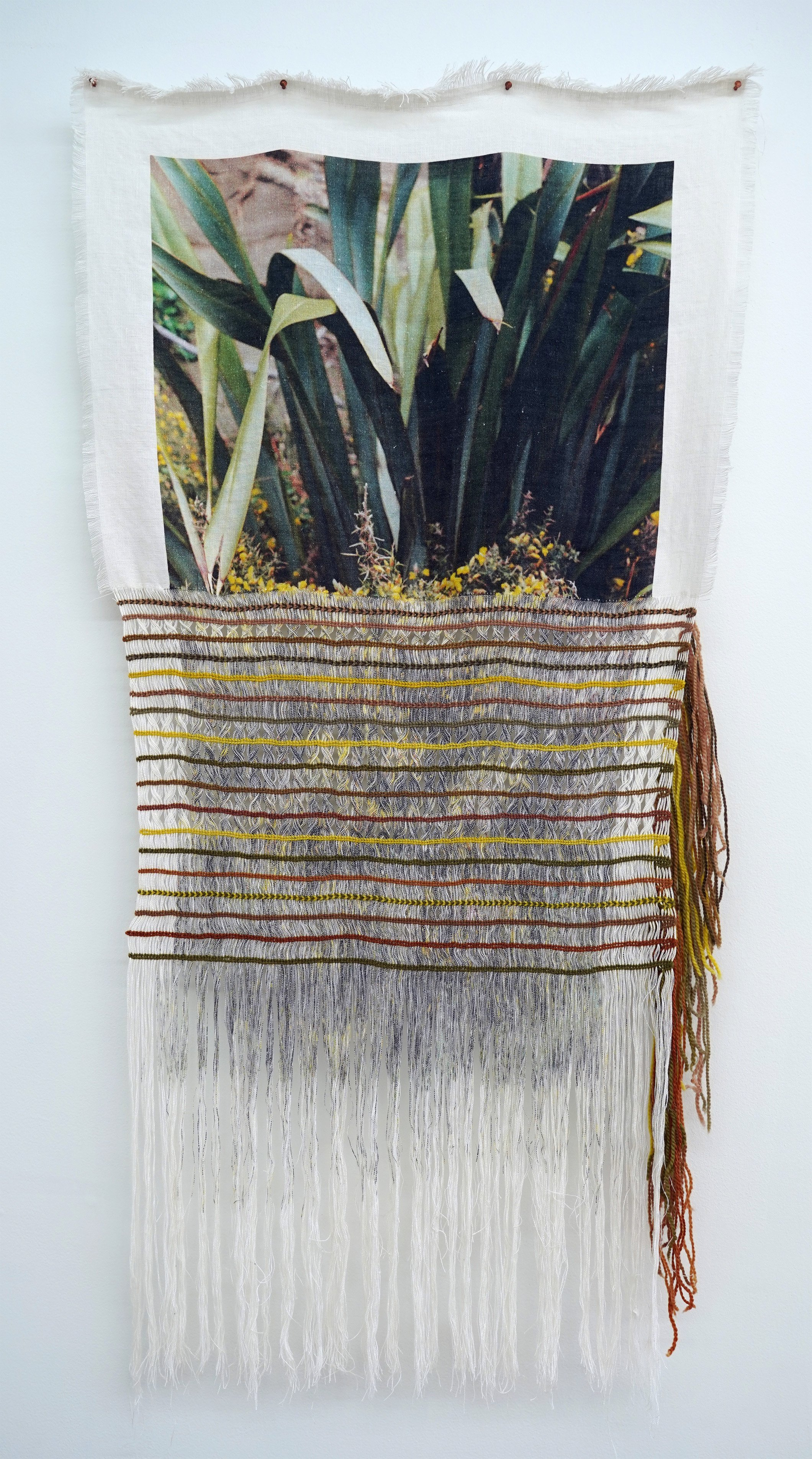 Arielle Walker, ''distance rewoven from the roots to the stem' (2020-ongoing). PHOTO: SOPHEARITH...