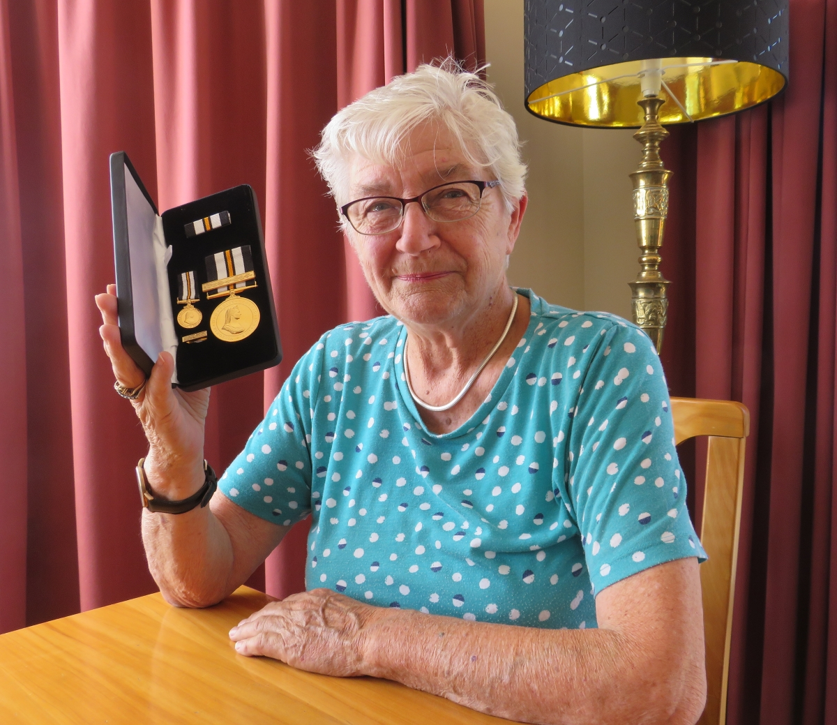 Margaret Taylor has served St John for 72 years. Photo: Ashburton Courier