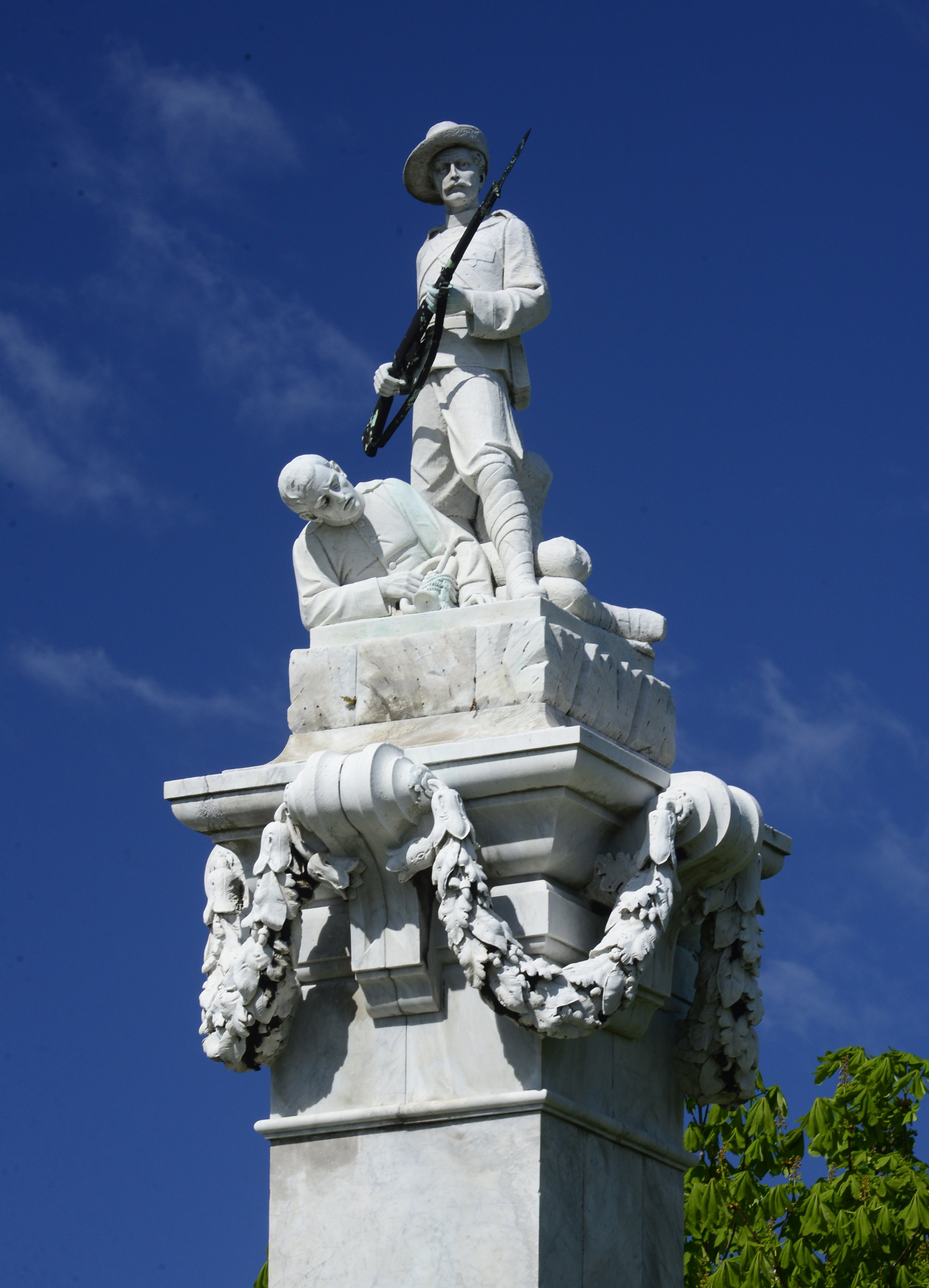 New Zealand's most impressive memorial to the South African War is this monument in the northern...