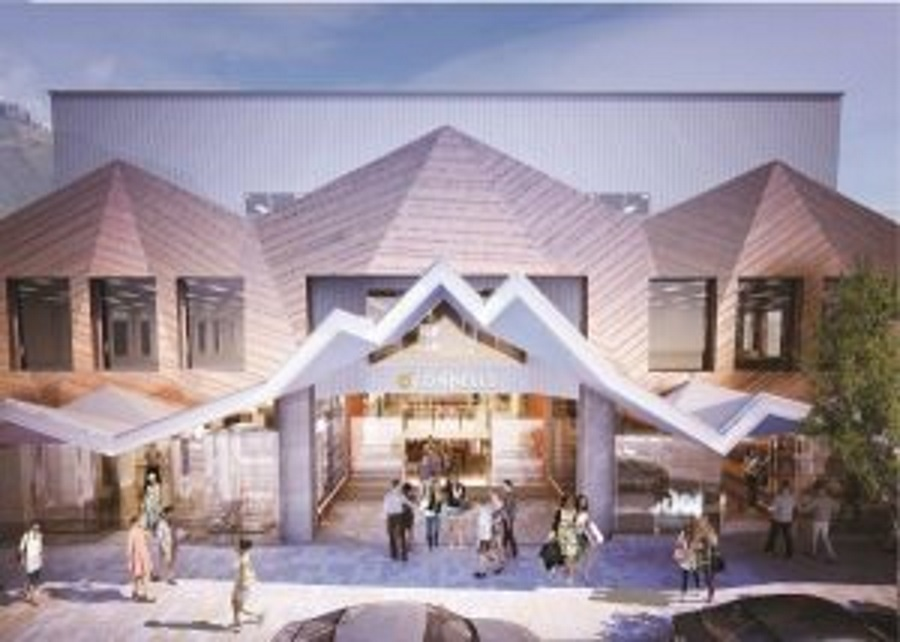 An artist's impression of the new O'Connells building's Camp st entrance. Image: supplied