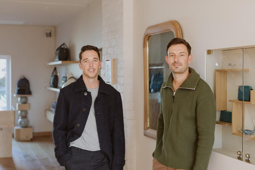 Liam and Steven from Deadly Ponies. Photo: Si Moore