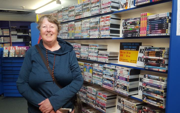 Barbara Drayton says she will miss visiting a local store for her DVDS and having a chat with the...
