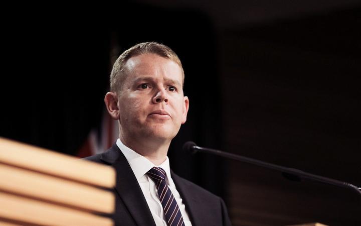 Covid-19 Response Minister Chris Hipkins. Photo: RNZ