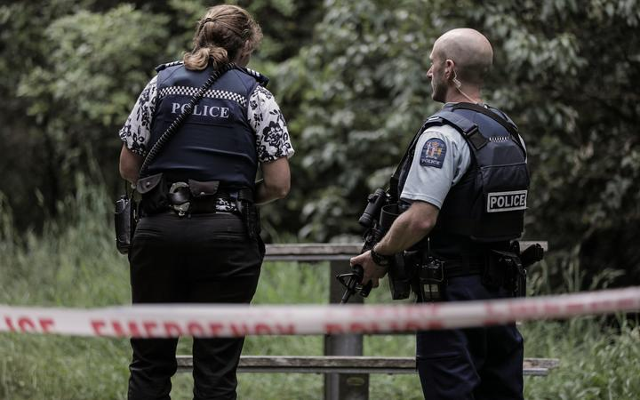 Police responding to an incident (file photo). Photo: RNZ / Dom Thomas