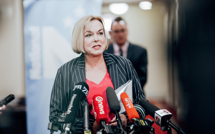 National leader Judith Collins is pushing for a Pacific travel bubble. Photo: RNZ / Dom Thomas