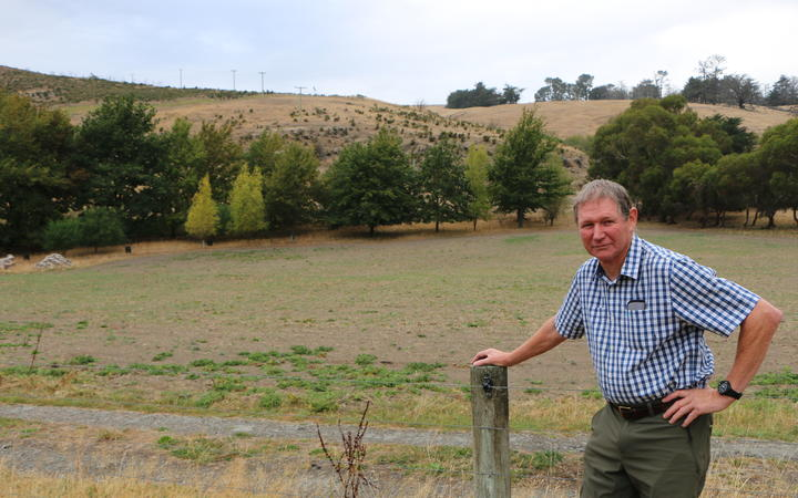 Banks Peninsula farmer Roger Beattie says it's the driest start to an autumn he's seen in 28...