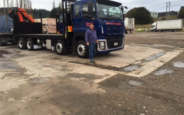 Bruce Mitchell ran Mitchell Transport in Mosgiel for 16 years up until 2019. Photo: Phil...