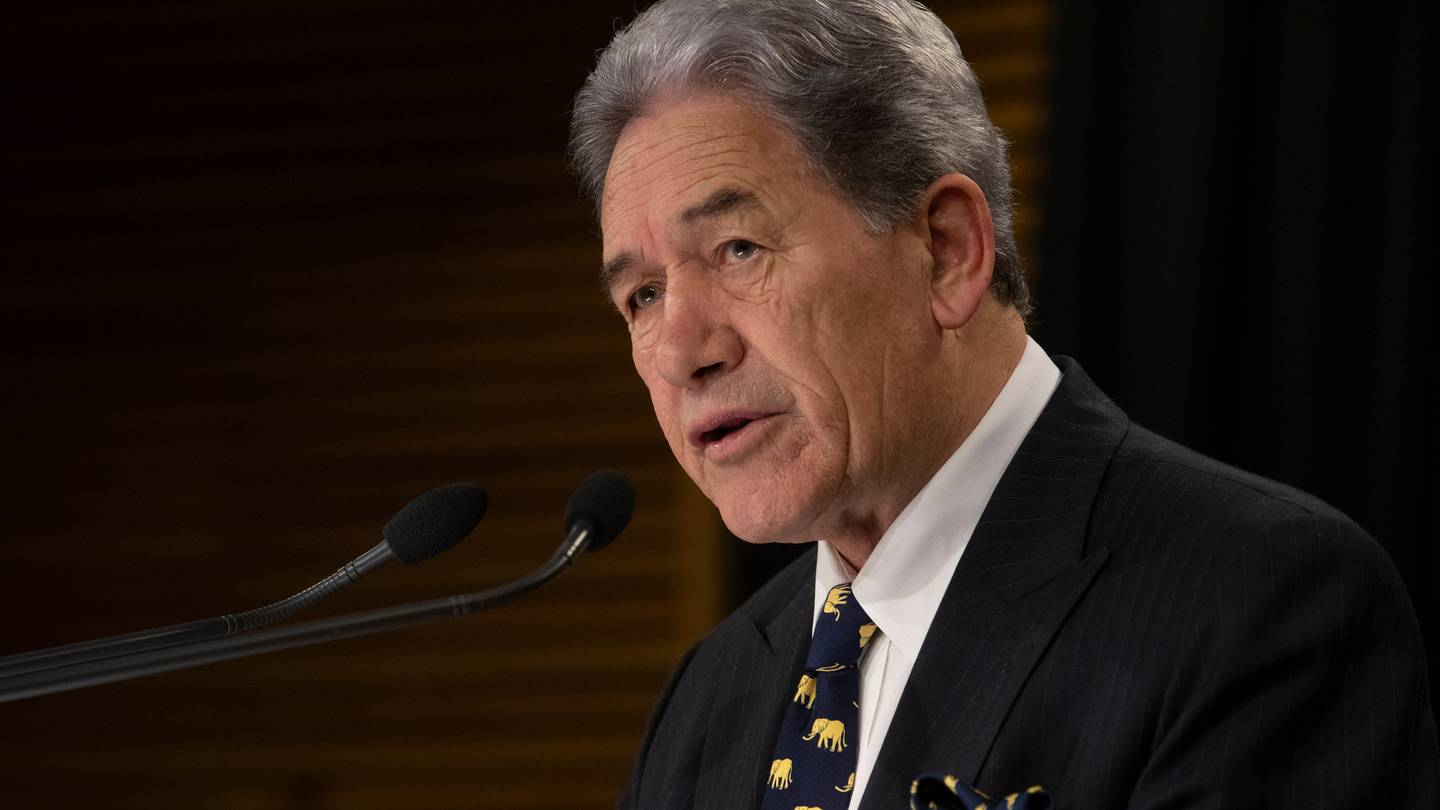 Winston Peters is fighting a judgement that declined his claim of a breach of privacy. File photo...