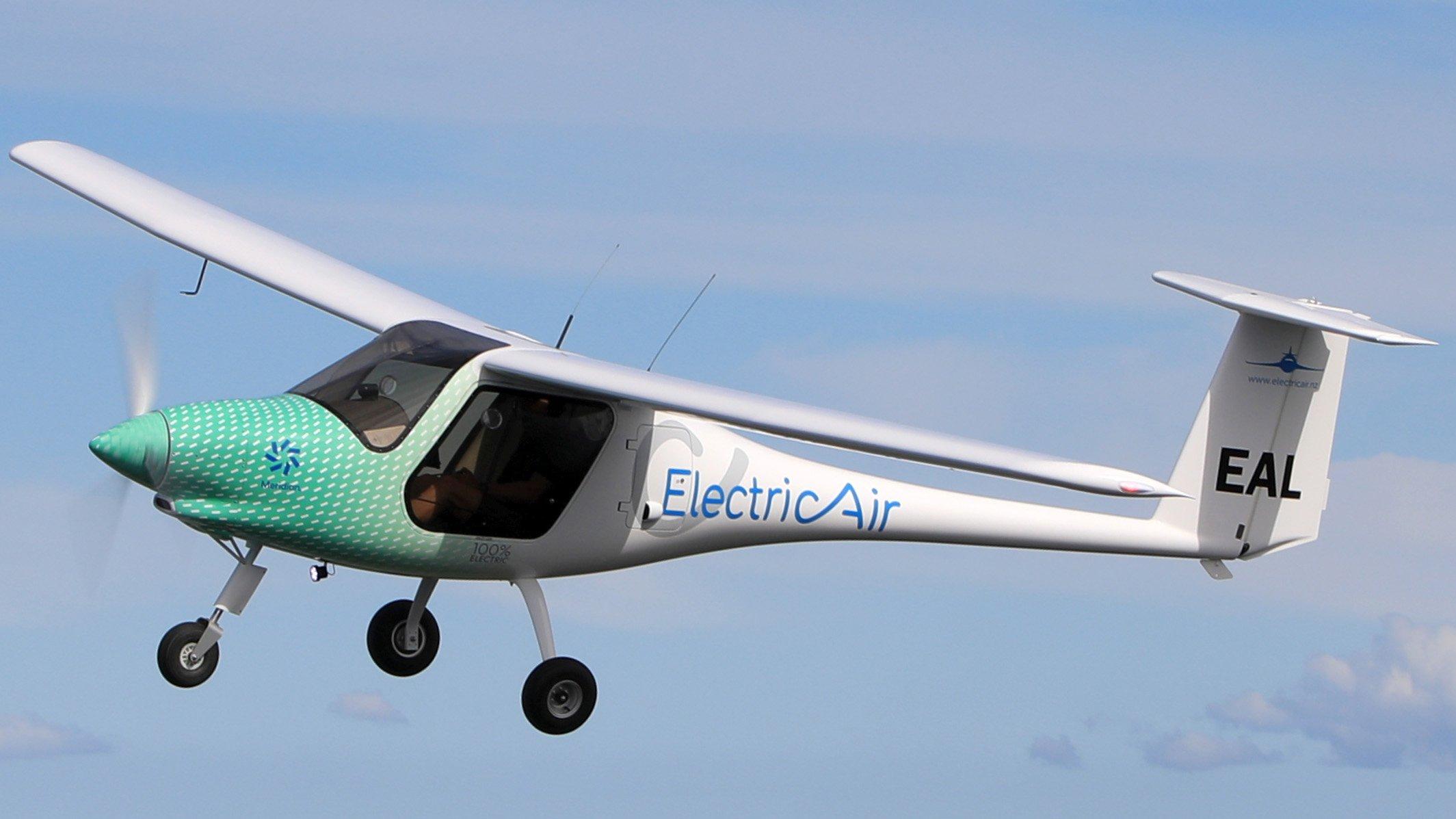 The ElectricAir aircraft. Photo: Newsline