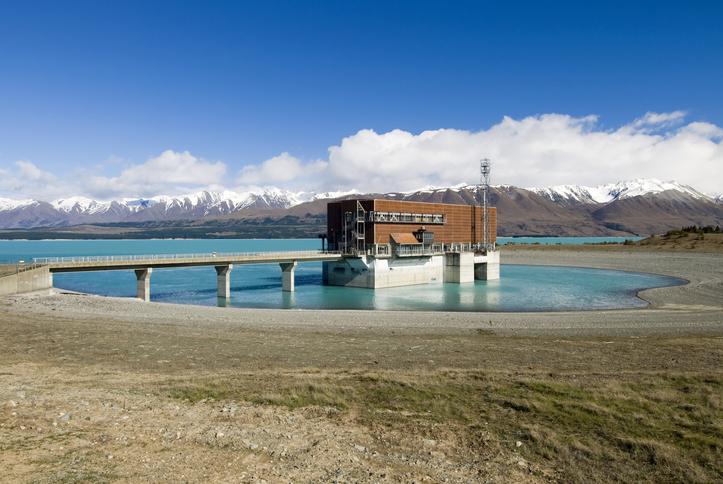 The Tekapo B hydro power station on Lake Pukaki. Photo: File / Getty Images