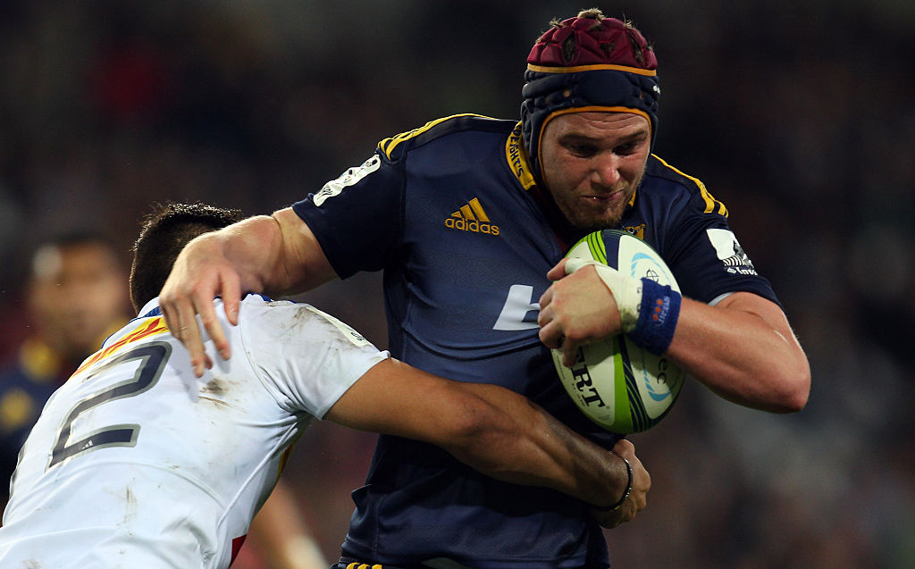 Joe Wheeler in action for the Highlanders in 2015. Photo: Getty
