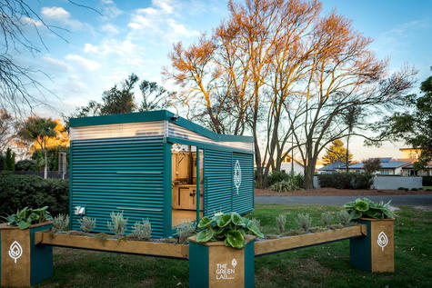 The Green Lab co-designs and helps build urban green spaces with residents. Photo: Supplied