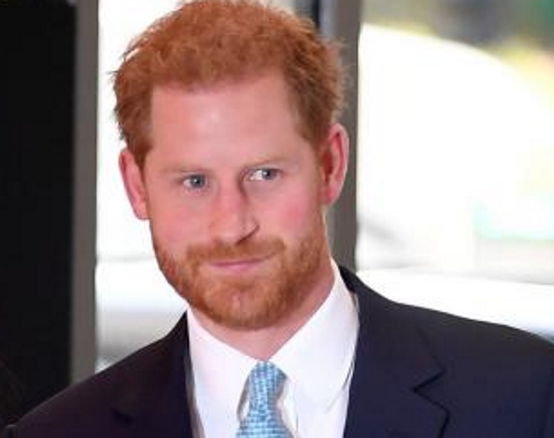 Prince Harry has flown from his home in Los Angeles to attend his grandfather's funeral. Photo:...