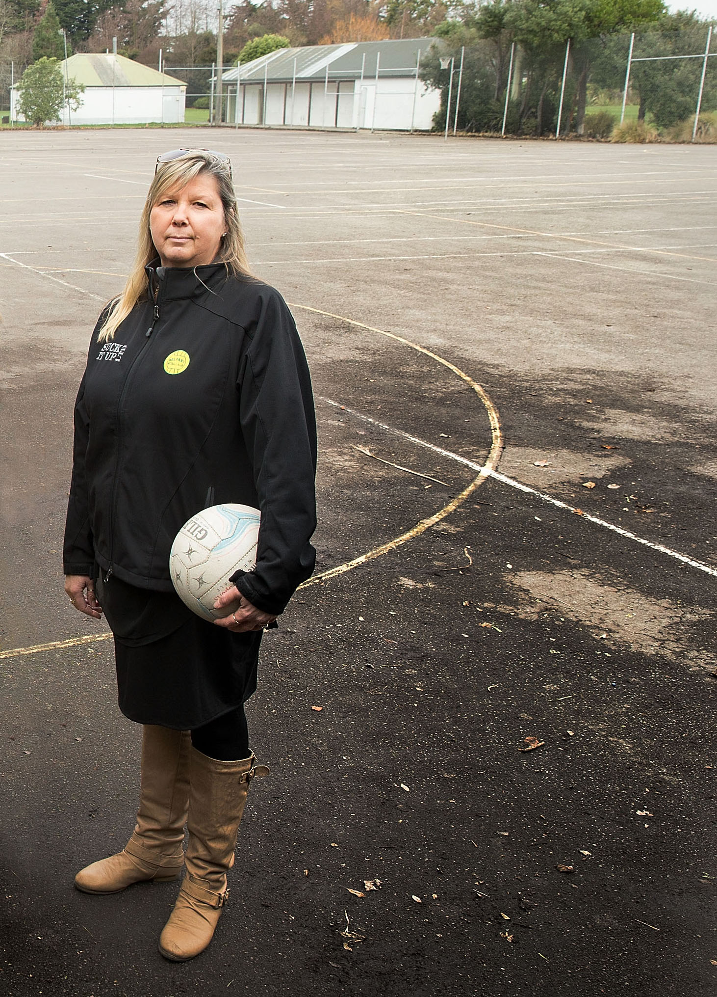 Belfast Netball Club president Karen Ellis. Photo: Martin Hunter