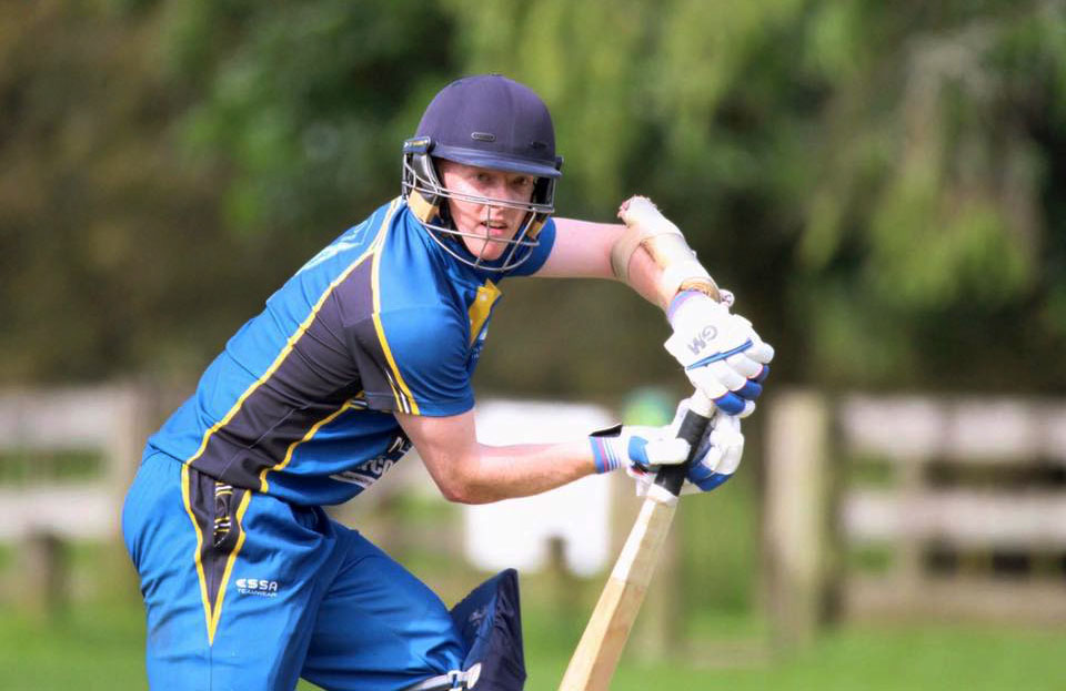 OBC senior captain and opening batsman David Wakefield. Photo: Supplied