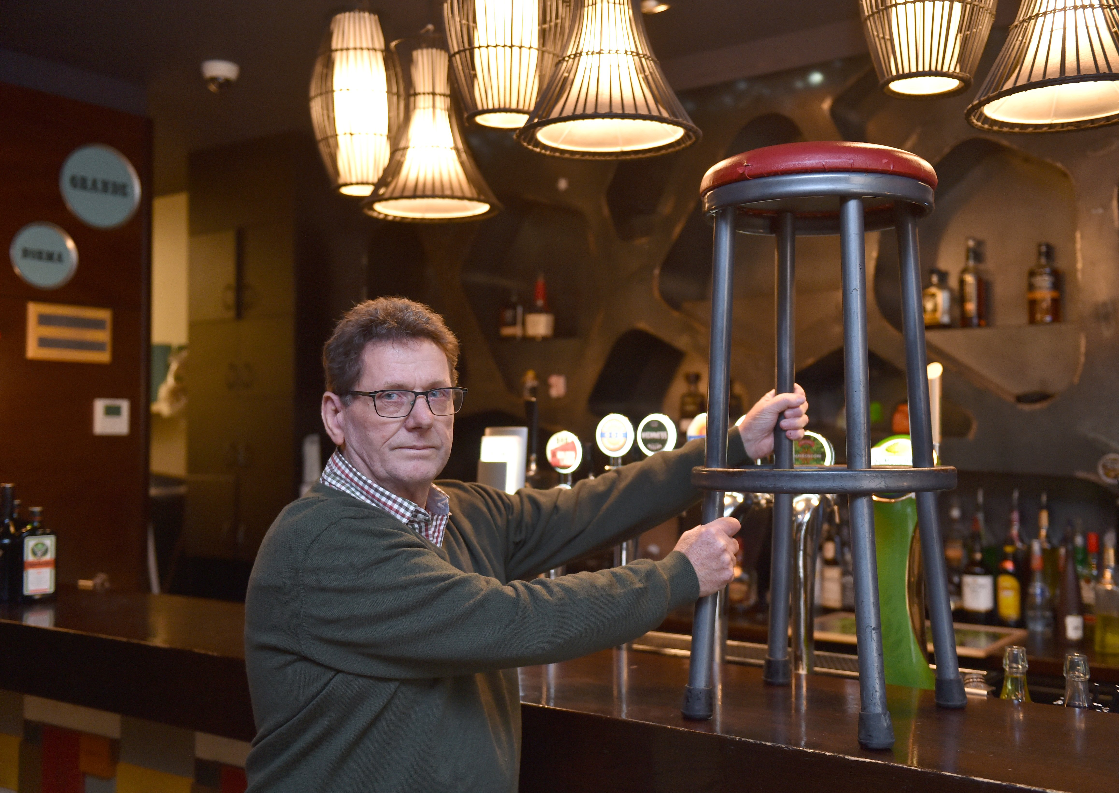 Innocent Bystander owner Phil Ellis is calling time on his business after 10 years. PHOTO: GREGOR...