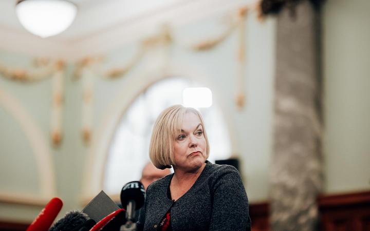 National leader Judith Collins Photo: RNZ