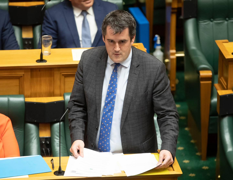 National's Covid-19 response spokesman Chris Bishop. Photo: NZ Herald