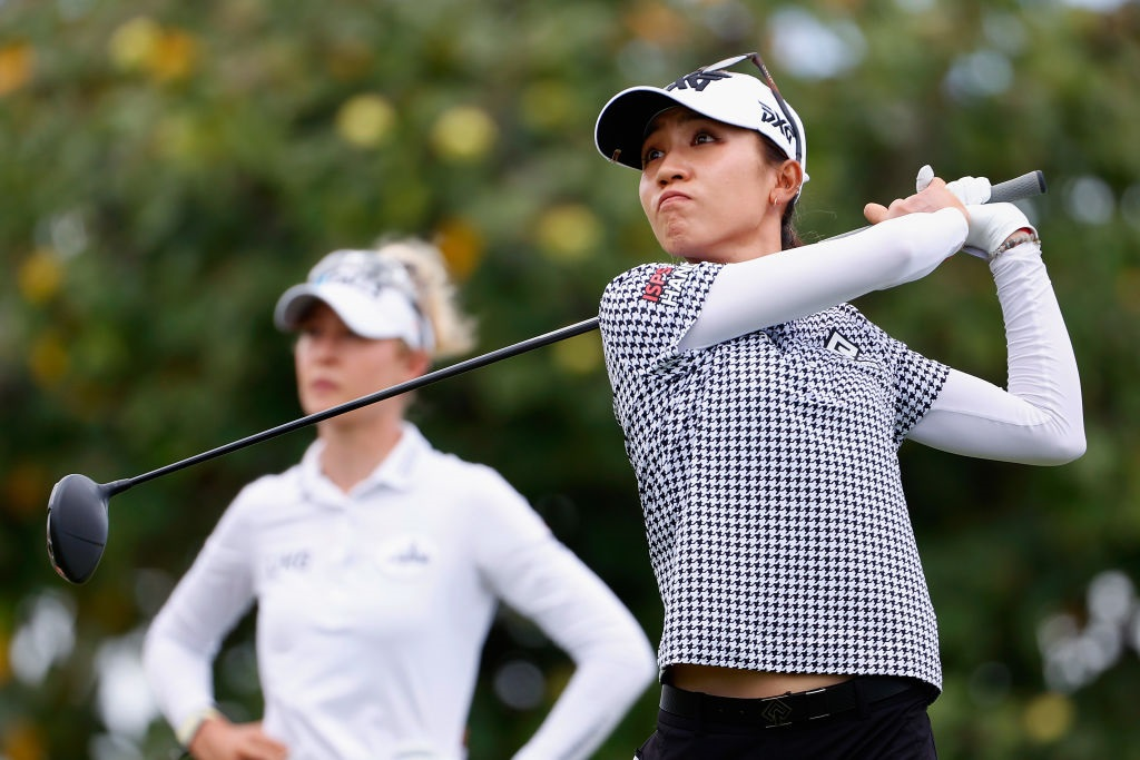 Lydia Ko during the final round of the LPGA Lotte Championship in Hawaii on Saturday. Photo:...