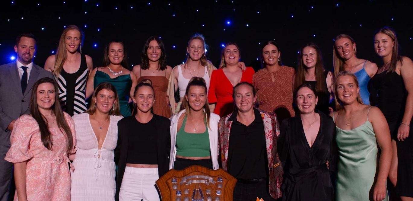The Canterbury Magicians at the Canterbury Cricket Awards. Photo: Callum Curnow