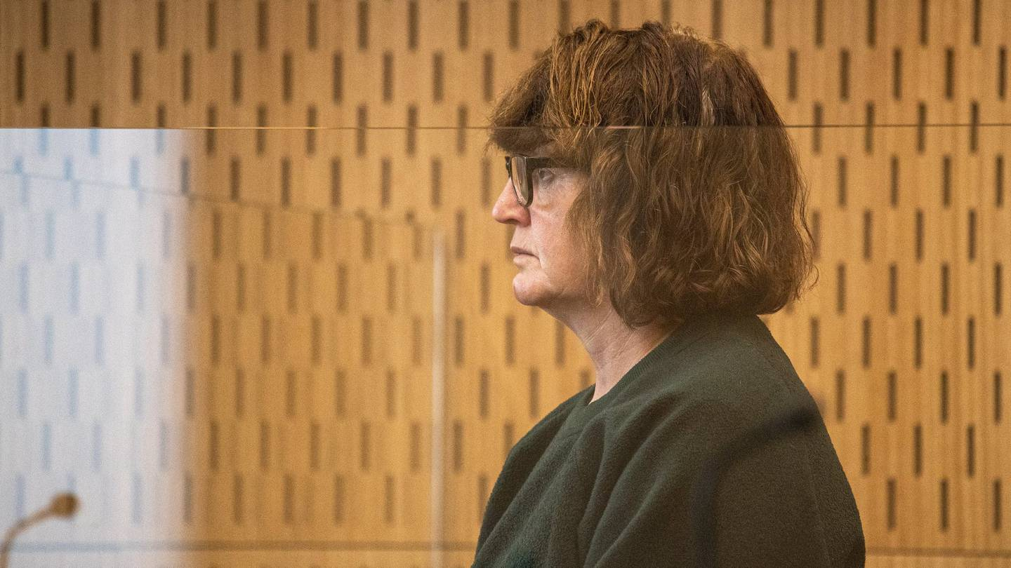 Rena Maloney appears in the High Court charged with murdering Martin Orme Berry. Photo: Pool