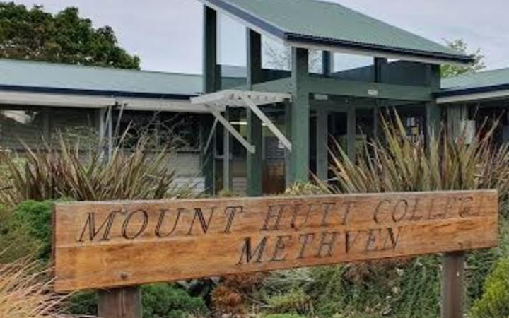 Mount Hutt College. Photo: supplied