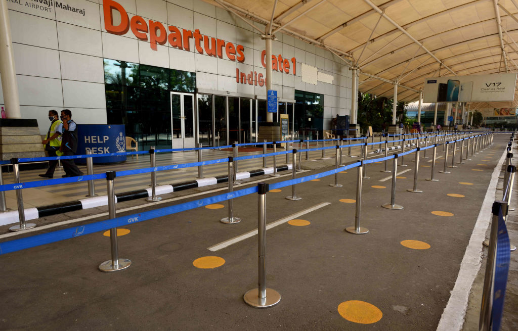 Mumbai Airport. Travel from India to New Zealand has been temporarily suspended from April 11...