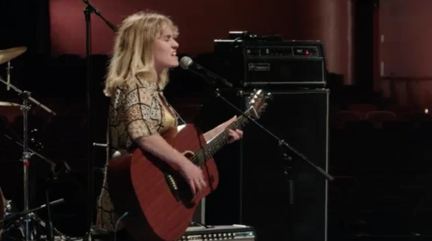 Amber Carly Williams hit all the right notes. Photo: TVNZ