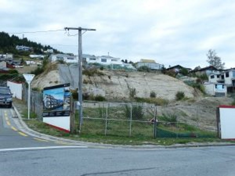 Companies involved in earthworks for this development site are about $1 million out of pocket....