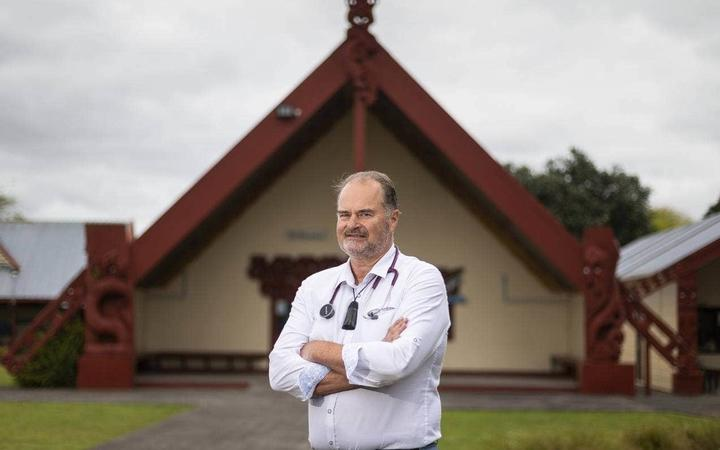 National Hauora Coalition clinical director Dr Rawiri McKree Jansen says Māori are more likely to...