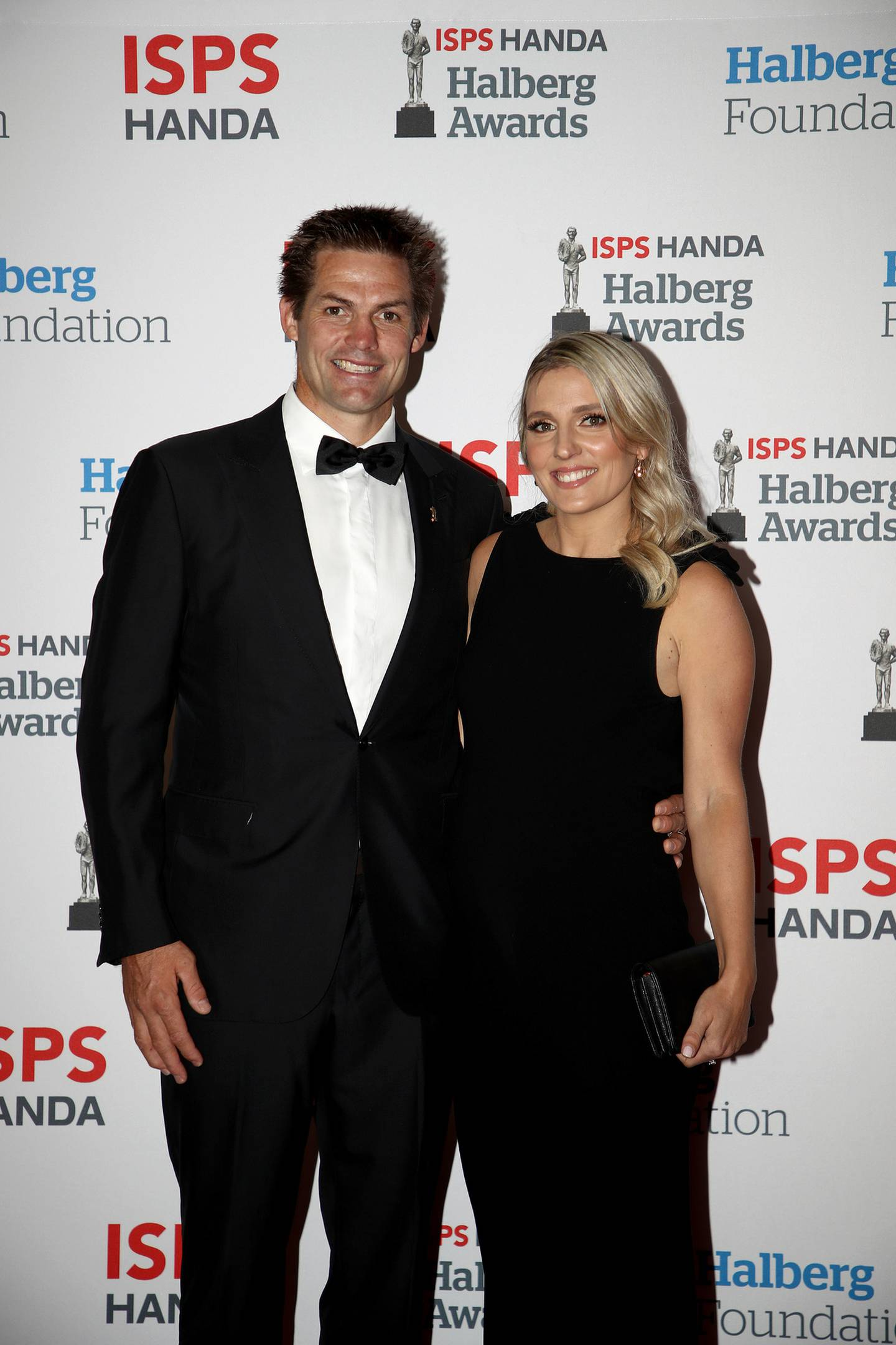 Richie and Gemma McCaw. Photo: Getty Images