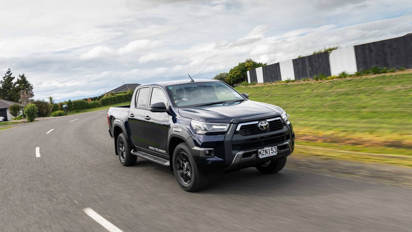 The Toyota Hilux is the most popular car among Kiwis so far in 2021. Photo: Supplied