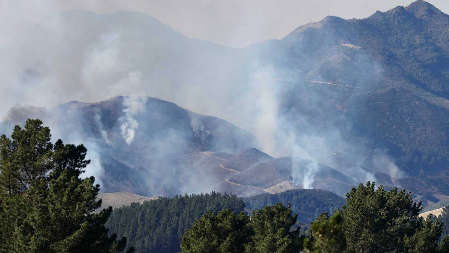 """A helicopter has been called in to help with a """"significant"""" controlled burn-off in North..."""