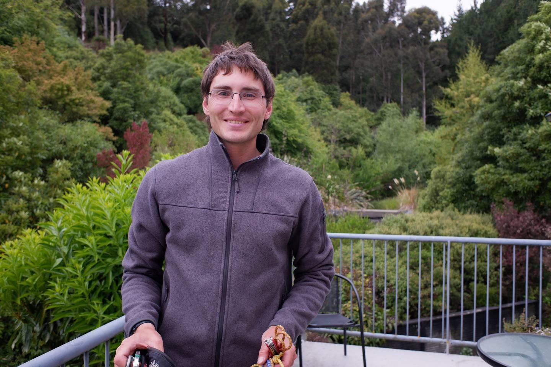Peter Kirkwood died on Mt Taranaki on Tuesday. Photo: Supplied