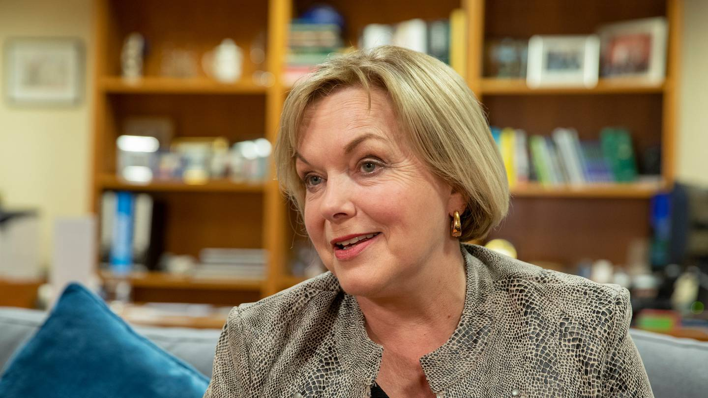 Judith Collins was given clothing and skincare. Photo: NZ Herald