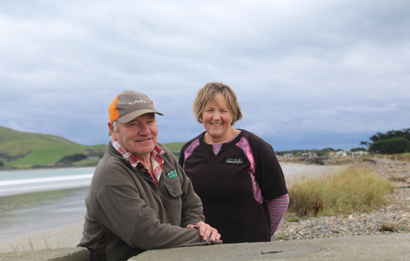 Alan and Deen McKay have been fighting Southland District Council over an eroding road and...