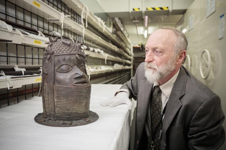 Canterbury Museum has the biggest collection of Benin Art in Australasia. Photo: Supplied /...