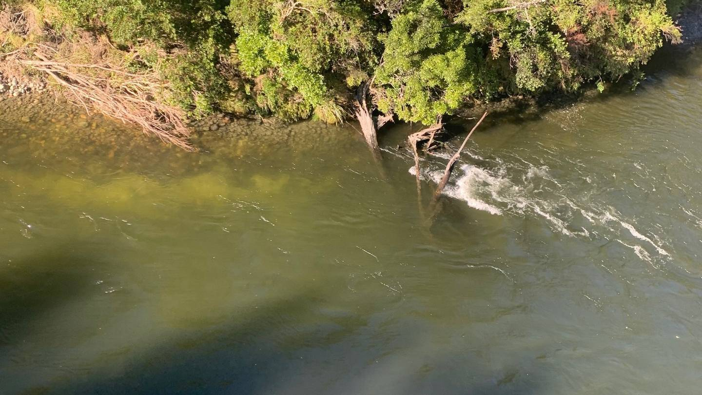 A search and rescue helicopter located the body of the man, about 20km downstream of Griffin Flat...