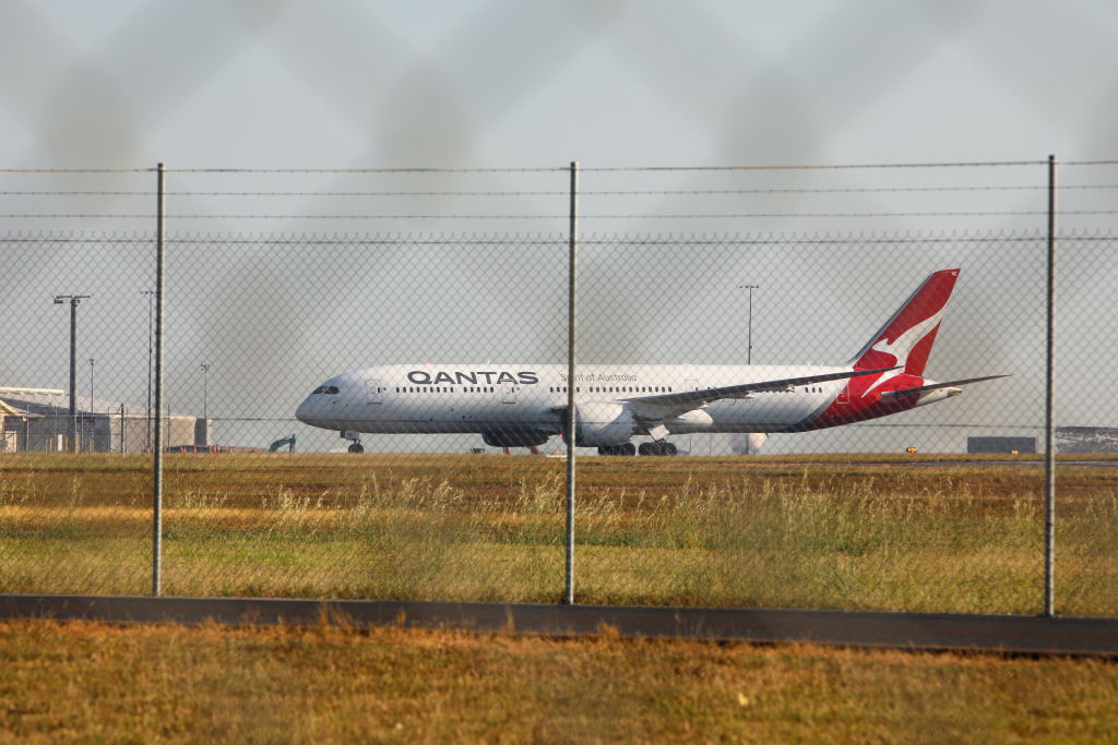 The first repatriation flight for Australians who had been stranded in India touches down at RAAF...