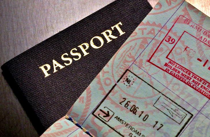 Passport generic. Getty