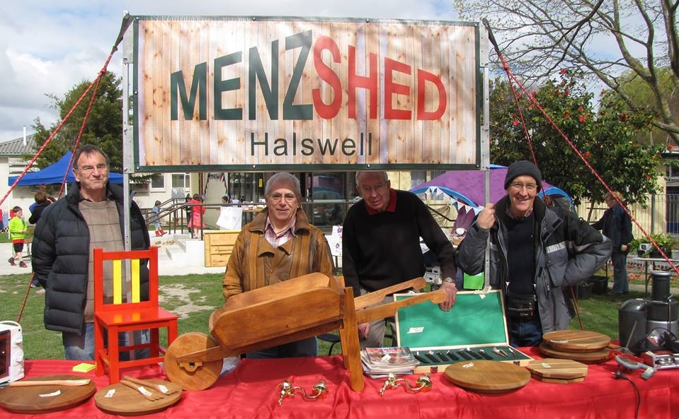 The Halswell Menzshed members demonstrating their creativity. Photo: menzshed.org.nz