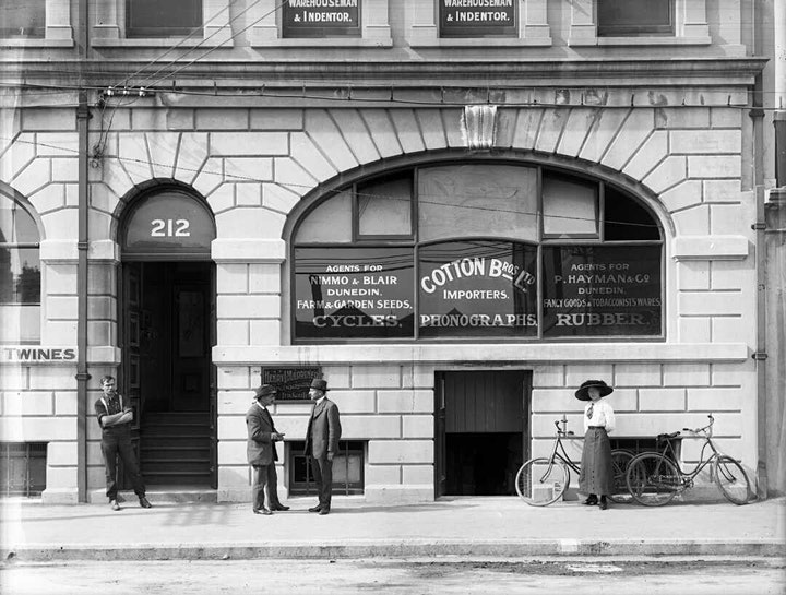 The NG building in Christchurch in the early 1900s. Photo: Supplied
