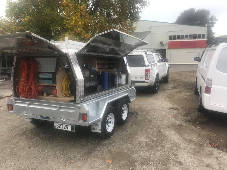 This trailer, registration 32T29, was stolen from Russ Drive, Lincoln, containing about $25,000...