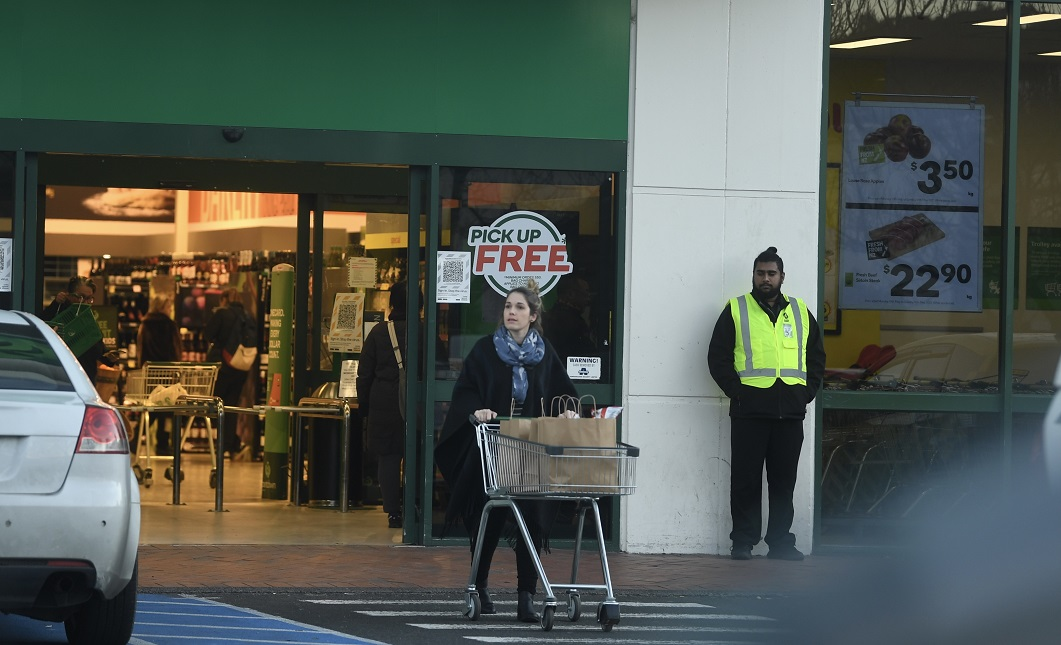 A shopper at Countdown Dunedin Central, which has reopened after a stabbing incident earlier in...