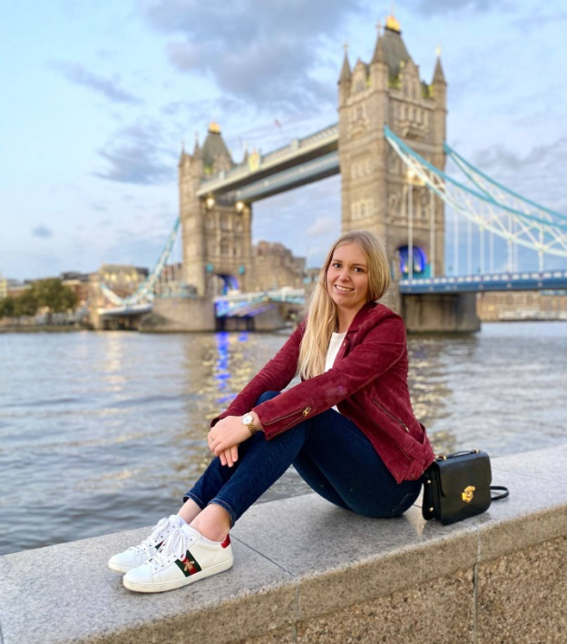 Helena Power caught Covid while working in London as a nanny last year. Photo: Supplied via NZ...