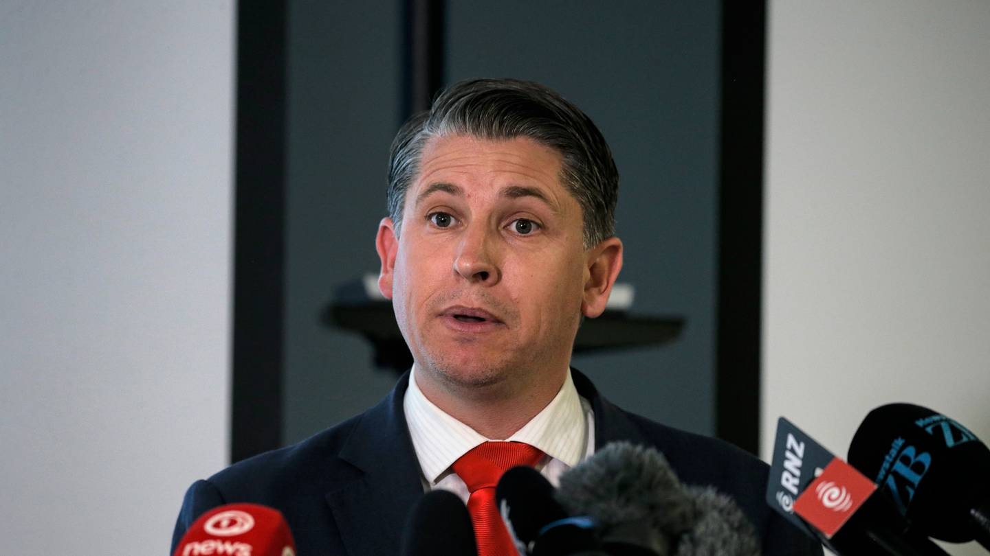 Workplace Relations Minister Michael Wood. Photo: NZ Herald