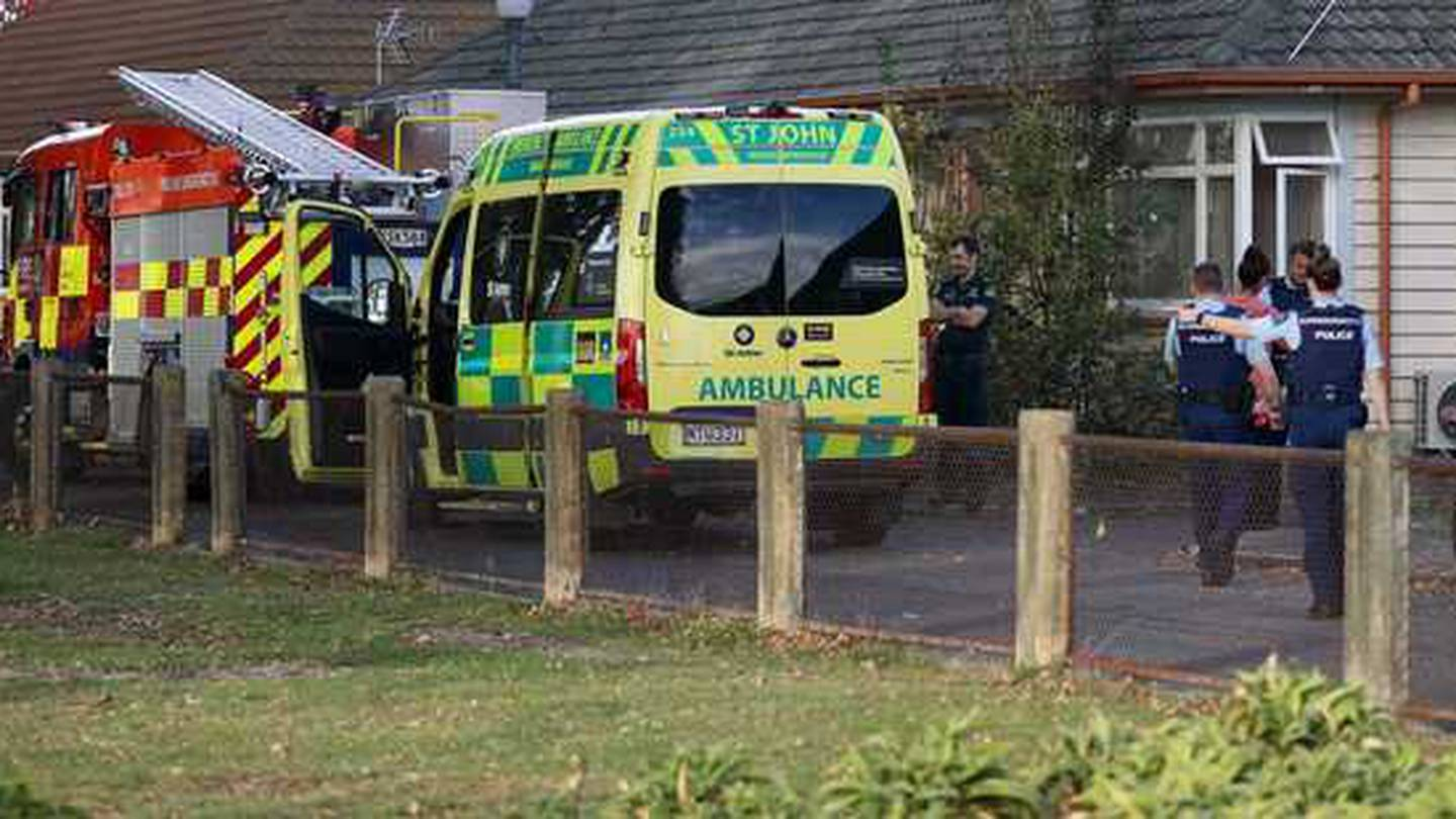 Emergency services were called to the Barnett Ave address in Sydenham just before 3pm on Tuesday....
