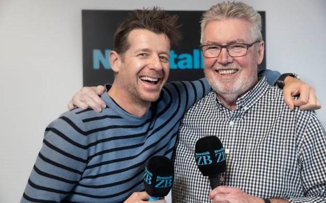 Simon Barnett and Phil Gifford. Photo: NewstalkZB