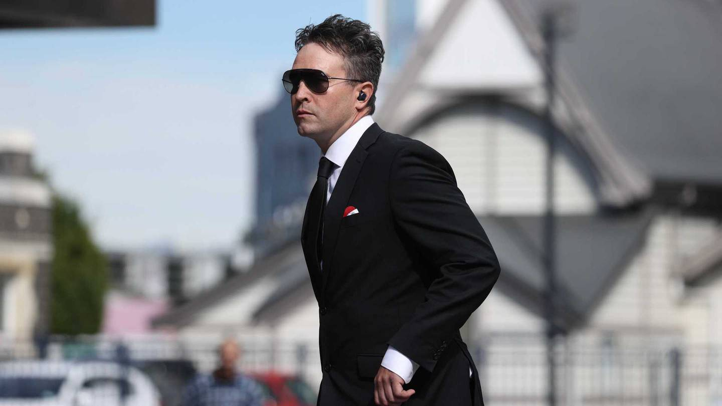 Joseph Douglas McGirr outside of the Christchurch District Court on Friday. Photo: George Heard