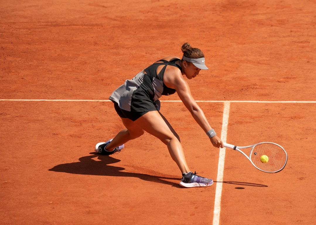 Naomi Osaka in action at the French Open this year. Photo: Susan Mullane-USA TODAY Sports